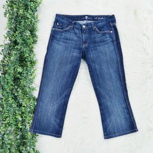 7 for All Mankind 'A' Pocket Capri Crop Jeans 27